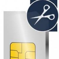 Обрізка SIM карток під  nanoSIM, microSIM